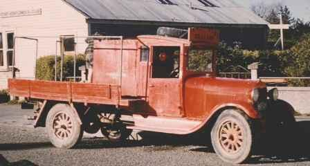 Model A Ford - Cust's first Fire Appliance