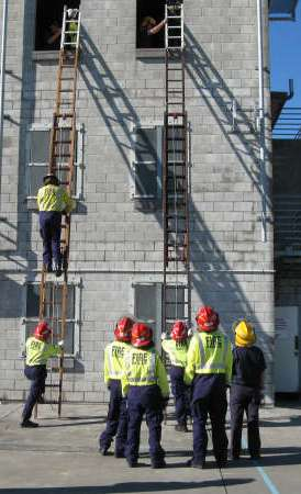 Woolston Training Centre - Recruit Course Ladder Drills